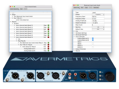 AverLAB 2.0 Introduces Audio Analyzer Production Test Automation Capabilities for the Lowest Cost