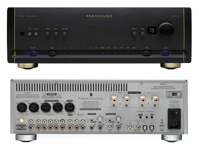 Parasound Introduces Improved Halo Integrated Amplifier