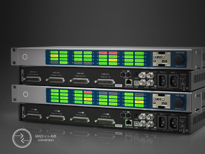 RME Introduces New M-32 Pro Series of AVB-MADI Converters