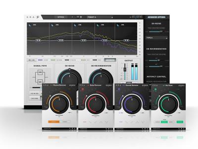 Accusonus Releases ERA-Bundle Single-Knob Plugins for Audio Repair
