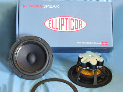 Test Bench: Scan-Speak Ellipticor 18WE/4542T00 Midbass Woofer