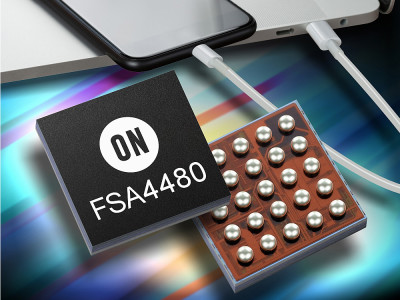 ON Semiconductor Announces New Multimedia Analog Audio Switch and High Precision Current Sense Amplifiers for USB-C Applications