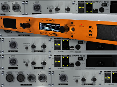 Attero Tech Introduces Synapse DM1 Dante Network Audio Monitoring Interface