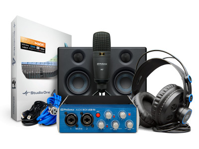PreSonus Delivers Complete Recording Solution with AudioBox Studio Ultimate Bundle