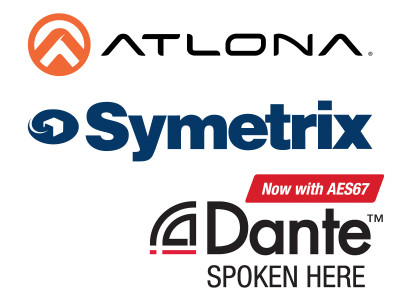 Atlona and Symetrix to Emphasize Audio over IP Interoperability in Upcoming Webinar