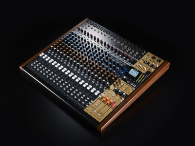 Past, Present and Future: Tascam Unveils Model 24 Digital Multitrack Recorder