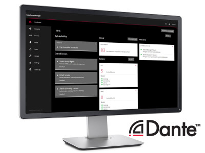 Audinate Strengthens Dante Domain Manager Software with New Release