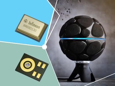 Infineon's Digital MEMS Technology Enables Zylia ZM-1 Microphone Array