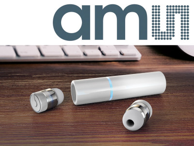 Innovative Two-Wire Interface Technology from ams Significantly Reduces Mechanical Design Constraints of True Wireless Earbuds