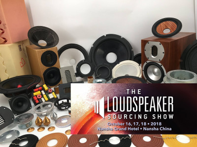 The Loudspeaker Sourcing Show 2018 Returns with Even More OEM/ODM Suppliers