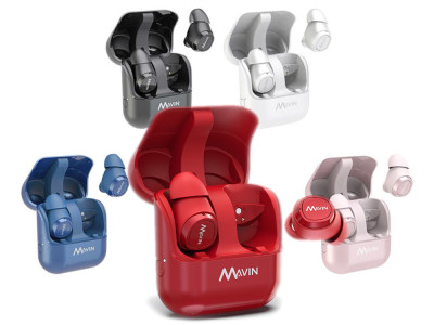 Mavin Introduces Air-X True Wireless Earbuds with 10 Hour Battery Life and 100ft Connection Based on Qualcomm QCC3026 Platform