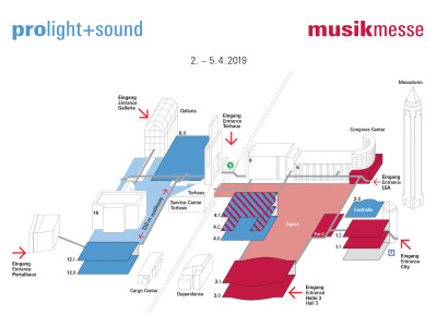 Musikmesse and Prolight+Sound 2019 Together Again!