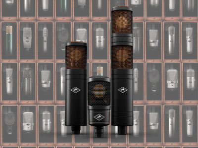 Antelope Audio unveils all-new Edge Family of Modeling Microphones