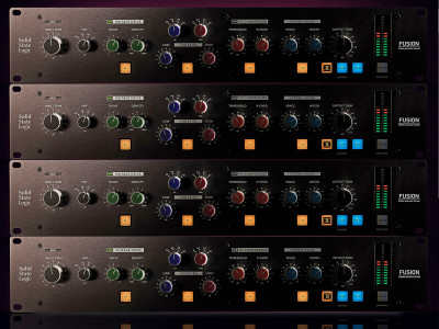 Solid State Logic Launches Fusion Studio Analog Processor