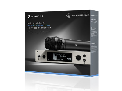 Sennheiser and Neumann Launch Special Evolution Wireless Bundle