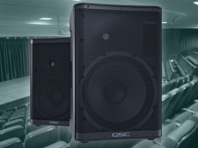 QSC Introduces CP Series Powered Loudspeaker Line