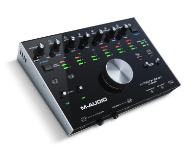 M-Audio Introduces M-Track 8x4M USB-C Audio Interface