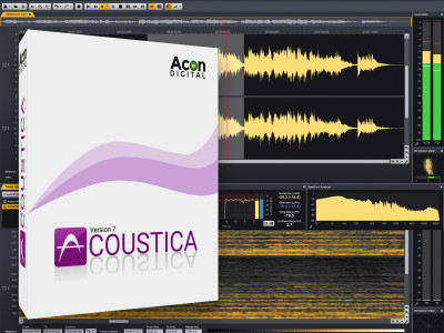 Acon Digital Releases Acoustica 7.1 Audio Editor with Extensive Plug-in Collection