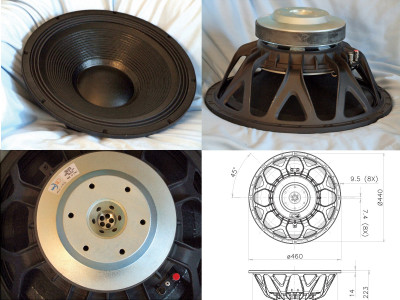 """Test Bench: The 18HW1070 18"""" Pro Sound Woofer from FaitalPRO"""