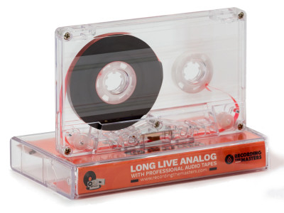 RecordingTheMasters Launches New FOX C-60 Analog Compact Music Cassette