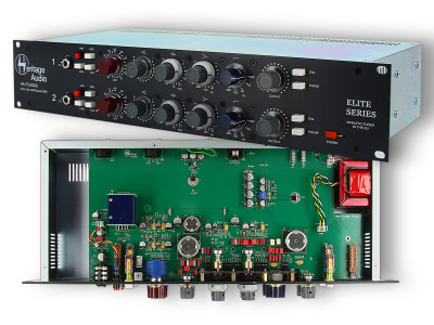 Heritage Audio Launches HA-73 EQX2 Dual Mic Amp/Equalizer