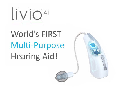 Starkey Announces New Livio AI Hearing Aid Platform with Integrated Sensors and Artificial Intelligence