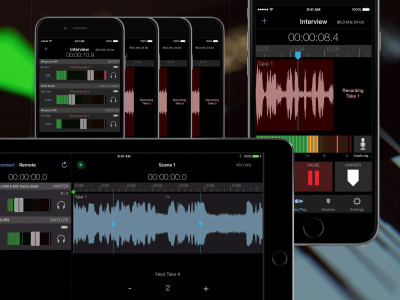 Apogee Releases MetaRecorder Version 2.0 Audio Recording App with Timecode for iPhone