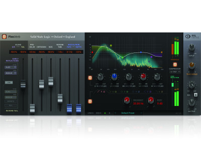 Solid State Logic Releases New FlexVerb Plug-In and SLL Native V6.1