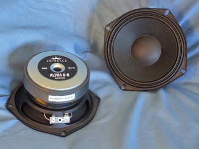 "Test Bench: The Alpha-5-8 5"" Midbass Driver from Eminence"