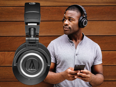 Audio-Technica Introduces ATH-M50xBT Wireless Over-Ear Headphones with Bluetooth 5