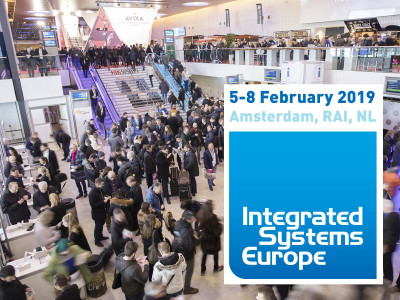 Biggest-Ever Integrated Systems Europe Returns to Amsterdam Again in 2019
