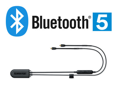 Shure Introduces High-Resolution Bluetooth 5 Earphone Communication Cable