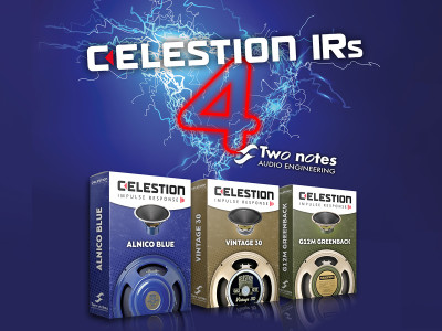 Celestion Speaker Impulse Responses Now Available in Two notes Proprietary Format