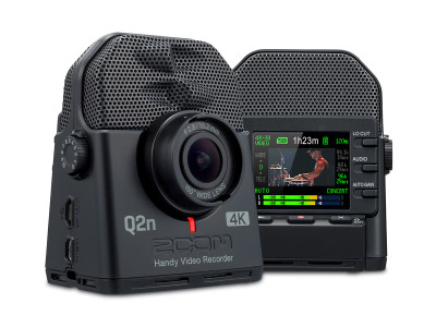 Zoom Introduces Q2n-4K Handy Video Recorder: The 4K Camera for Musicians