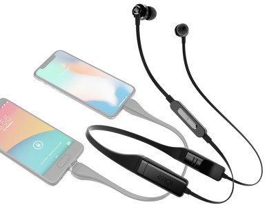 49101 Introduces Changer Bluetooth 5 Headphones with Power Sharing Abilities on Indiegogo
