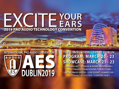 146th Audio Engineering Society AES Dublin 2019 Convention