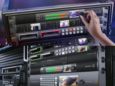 New Blackmagic Rackmount Audio Monitor 12G From Blackmagic Design