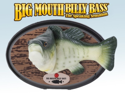 It's Not That Smart, But It Sings! The Alexa-Compatible Big Mouth Billy Bass