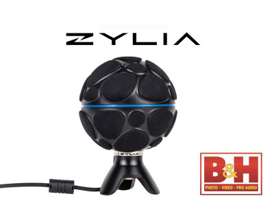 ZYLIA ZM-1 360-Degree Sound Recording System Now Available for Sale in the United States