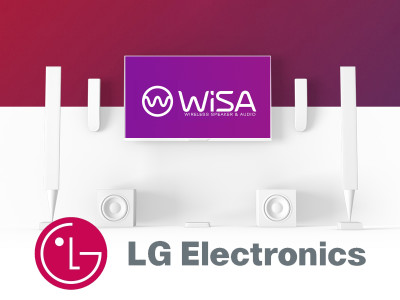 Wireless Speaker and Audio Association (WiSA) Announces Global Collaboration with LG Electronics and Exciting Product Introductions From Nine Leading Speaker Brands at CES 2019