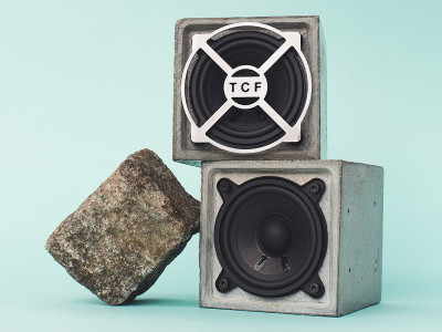 Le Pavé Parisien: A Unique Speaker Made of Concrete Presented at CES 2019