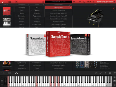 IK Multimedia Unveils SampleTank 4 with New Sample Engine, Massive New Library, Scalable GUI and Much More