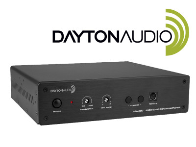 Stronger Bass with New Dayton Audio BSA-200 Bridgeable Stereo Amplifier