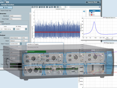 Audio Precision Releases APx Software Version 5.0 Adding Transfer Function Measurement, Cross-Spectral Analysis Of Arbitrary, Broadband Signals