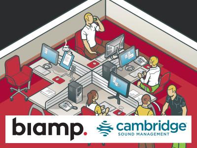 Biamp Announces Acquisition of Sound Masking Specialist Cambridge Sound Management