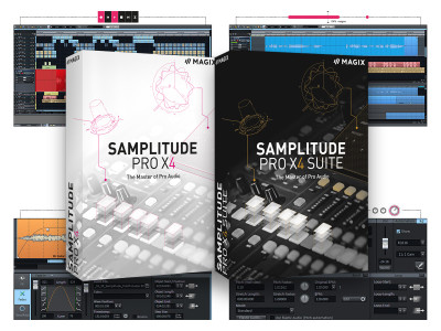 MAGIX Announces New Samplitude Pro X4 with Expanded Features and Tools