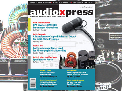 Design, Build, and Have Fun with audioXpress February 2019!