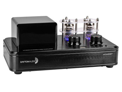New Hybrid Audio Amplifier from Dayton Audio Blends Tube Tone with Class D Power and Bluetooth
