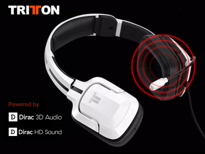Dirac Research Equips New Tritton Gaming Headset With Breakthrough 3D Audio Immersion