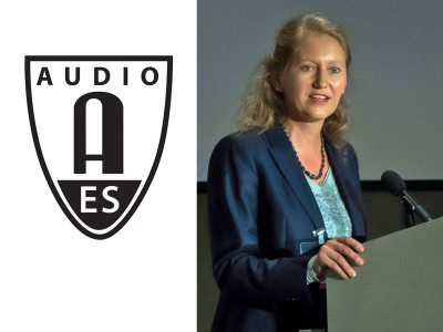 Nadja Wallaszkovits Assumes Role as President of the Audio Engineering Society